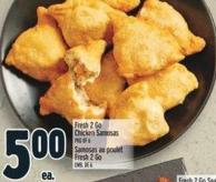 Fresh 2 Go Chicken Samosas