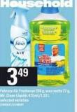 Febreze Air Freshener - 250 g - Wax Melts - 77 g - Mr. Clean Liquids - 473 Ml/1.33 L