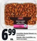Irresistibles Roasted Almonds