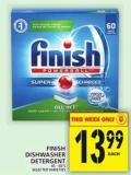 Finish Dishwasher Detergent - 45-60's
