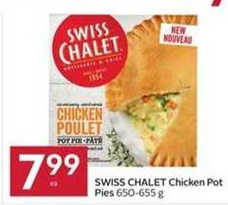 Swiss Chalet Chicken Pot Pies