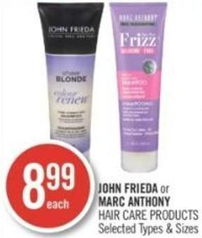 John Frieda or Marc Anthony Hair Care Products