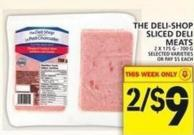 The Deli-shop Sliced Deli Meats