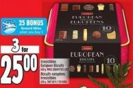 Irresistibles European Biscuits 650 g