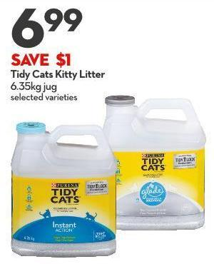 Tidy Cats Kitty Litter 6.35kg Jug