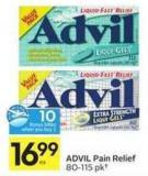 Advil Pain Relief - 10 Air Miles Bonus Miles