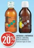 Naturals or Nutravege Omega-3 Naturals Health Products
