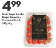 Fresh Sugar Bombs Grape Tomatoes