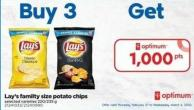 Lay's Familty Size Potato Chips - 220/235 g