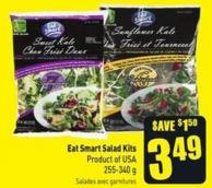 Eat Smart Salad Kits 255-340 g Product of USA