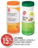 Life Brand Fibre Laxative - Clearlax or Clearly Fibre Powder