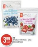 PC Frozen Fruit 400g - 600g