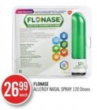Flonase Allergy Nasal Spray 120 Doses