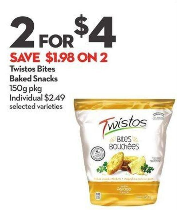 Twistos Bites Baked Snacks