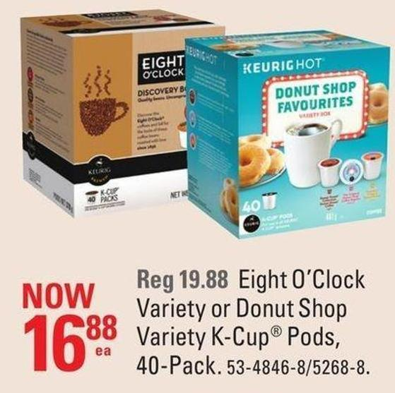 Variety K-cup Pods - 40-pack