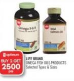 Life Brand Omega Fish Oils Products