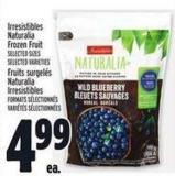 Irresistibles Naturalia Frozen Fruit