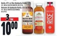 Kevita - Gt's Or Rise Kombucha Drinks 414 - 480 ml