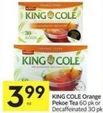 King Cole Orange Pekoe Tea
