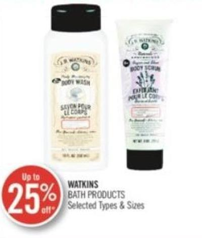 Watkins Bath Products