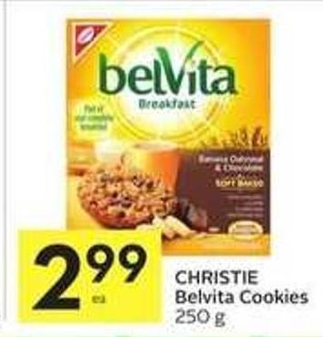 Christie Belvita Cookies
