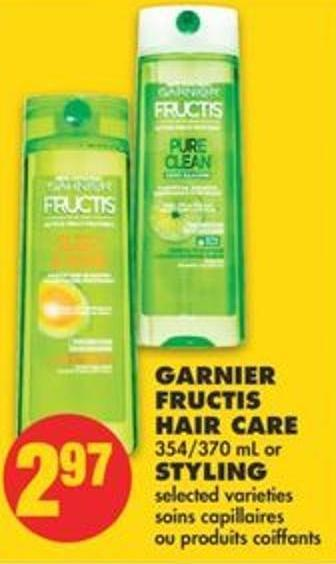 Garnier Fructis Hair Care 354/370 Ml Or Styling