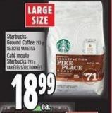Starbucks Ground Coffee 793 g