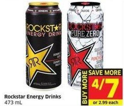 Rockstar Energy Drinks 473 mL