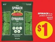 Spinach - 8 Oz.