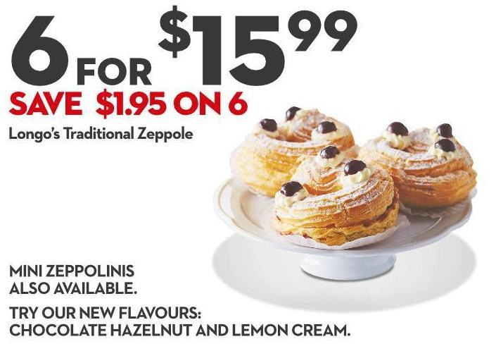 Longo's Traditional Zeppole