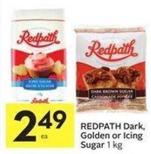 Redpath Dark - Golden or Icing Sugar