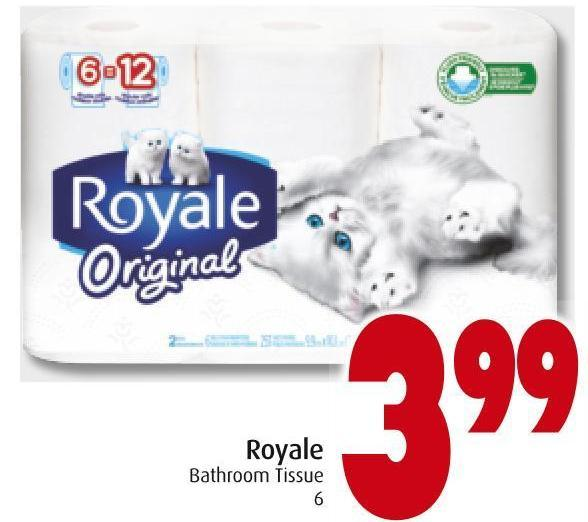 Royale Bathroom Tissue 6