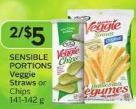 Sensible Portions Veggie Straws or Chips 141-142 g