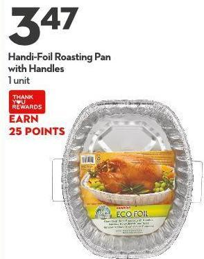 Handi-foil Roasting Pan With Handles 1 Unit