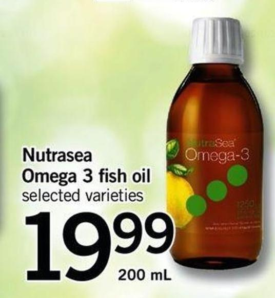 Nutrasea Omega 3 Fish Oil - 200 Ml