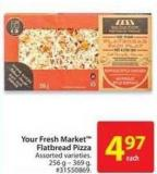 Your Fresh Market Flatbread Pizza