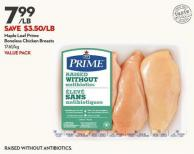 Maple Leaf Prime  Boneless Chicken Breasts