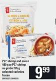 PC Shrimp And Sauce - 480 G Or PC Shrimp Au Gratin - 205 G