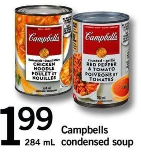 Campbells Condensed Soup - 284 Ml