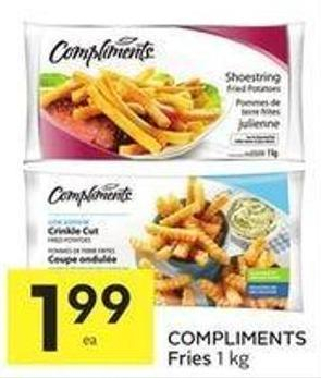 Compliments Fries 1 Kg