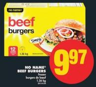 No Name Beef Burgers - 1.36 Kg