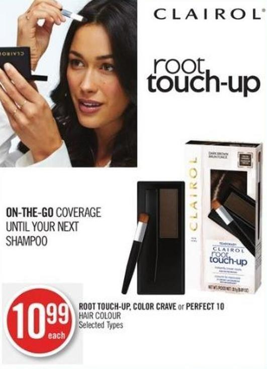 Root Touch-up - Color Crave or Perfect 10 Hair Colour