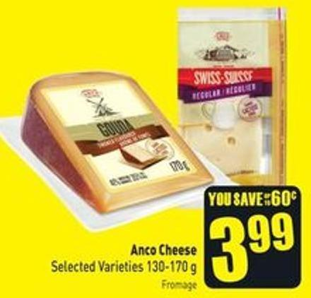 Anco Cheese Selected Varieties 130-170 g