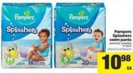 Pampers Splashers Swim Pants - 17-20's