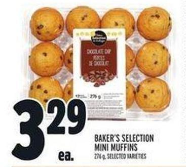 Baker's Selection Mini Muffins