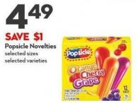 Popsicle Novelties