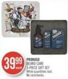 Proraso Beard Care 3-piece Gift Set