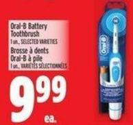 Oral-b Battery Toothbrush 1 Un.