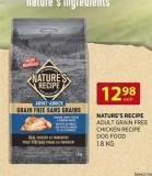 Nature's Recipe Adult Grain Free Chicken Recipe Dog Food