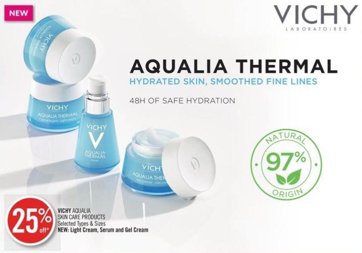 Vichy Aqualia Skin Care Products